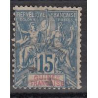 Guinée - numéro 6 - oblitéré
