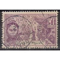 Guinée - numéro 116 - oblitéré