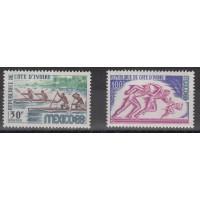 Cote d'Ivoire - numéro 277 et 278 - neuf sans charnière