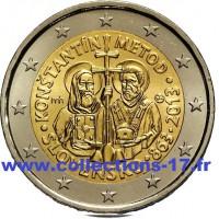 2 €uros Slovaquie 2013