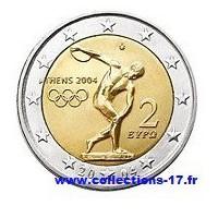 2 €uros Grèce 2004