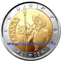 2 €uros Espagne 2005
