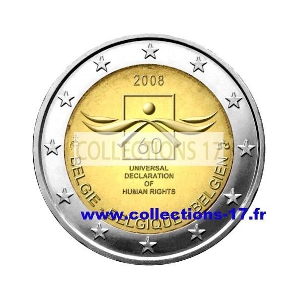 2 €uros Belgique 2008