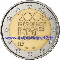 2 €uros France 2008 (UNC Sortie de Rouleau)