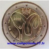 2 €uros Portugal 2009 (UNC Sortie de Rouleau)