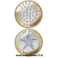 3€ €uros Slovénie 2008 UNC Sortie de Rouleau