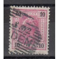 Autriche - numéro 70A - Rare - oblitéré