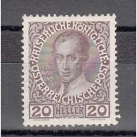 Autriche - numéro 108 - neuf avec charnière