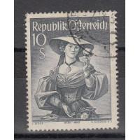 Autriche - numéro 754A - Oblitéré