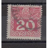 Autriche - Timbre Taxe numéro 39a - oblitéré