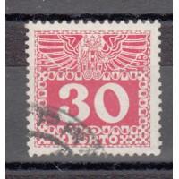 Autriche - Timbre Taxe numéro 41a - oblitéré