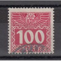 Autriche - Timbre Taxe numéro 43a - oblitéré