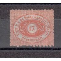 Autriche - Compagnie Danube de navigation - N° 1a - Neuf sans gomme