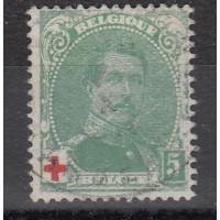 Belgique - numéro 129 - oblitéré