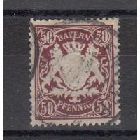 Allemagne - Bavière - numéro 69 - oblitéré