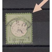 Allemagne - numéro  - oblitéré - (coin, voir flèche)