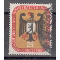 Allemagne - Berlin Occid. - numéro 122 - oblitéré