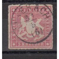 Allemagne - Wurtemberg - numéro 31 - oiblitéré