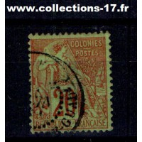 Colonies Françaises - Numéro 52 - Oblitéré