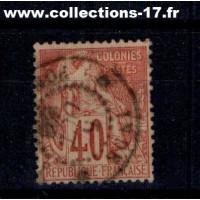 Colonies Françaises - Numéro 57 - Oblitéré
