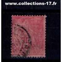 Colonies Françaises - Numéro 58 - Oblitéré