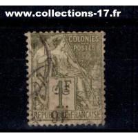 Colonies Françaises - Numéro 59 - Oblitéré