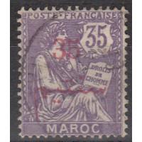 Maroc - numéro 33 - oblitéré
