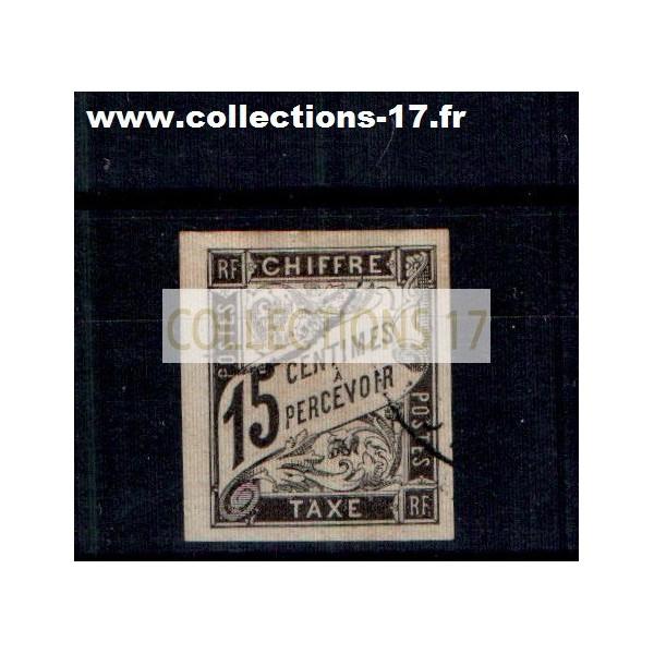 Colonies Françaises - Numéro Taxe 7 - Oblitéré
