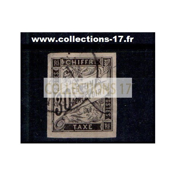 Colonies Françaises - Numéro Taxe 9 - Oblitéré