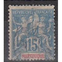Martinique - numéro 36 - oblitéré
