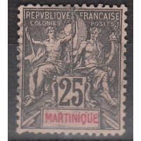 Martinique - numéro 38 - oblitéré
