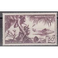 Martinique - numéro PA 13 - neuf avec charnière