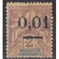 Madagascar numéro 51 II - neuf avec charnière