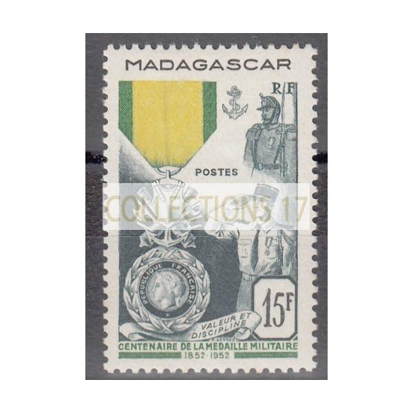 Madagascar numéro 321 - neuf avec charnière