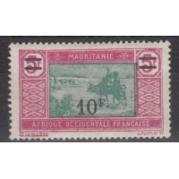 Mauritanie - numéro 55 - neuf avec charnière