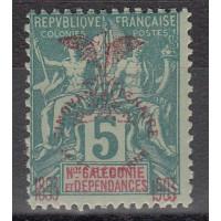 Nouvelle Calédonie numéro 70 - neuf avec charnière