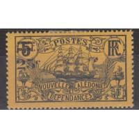 Nouvelle Calédonie numéro 129a - Neuf sans charnières