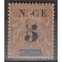 Nouvelle Calédonie numéro 65 - neuf avec charnière