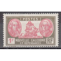 Nouvelle Calédonie numéro 154 - Neuf avec charnières