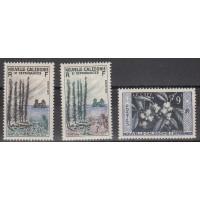 Nouvelle Calédonie numéro 284/6 - Neuf avec charnières
