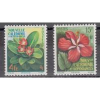 Nouvelle Calédonie numéro 288/9 - Neuf avec charnières