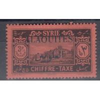 Alaouites - numéro TAXE 9 - neuf avec charnière