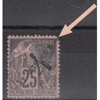 St Pierre & Miquelon - Numéro 47 - Neuf avec charnières (coin)