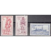 St Pierre & Miquelon - Numéro 207/09 - Neuf avec charnières