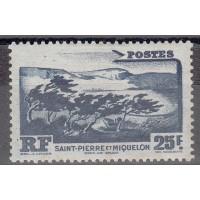 St Pierre & Miquelon - Numéro 343 - Neuf avec charnières