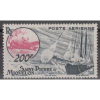 St Pierre & Miquelon - Numéro PA 20 - Neuf avec charnières