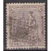 Espagne - numéro 135 - Oblitéré