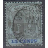 Maurice - numéro 117 - Oblitéré