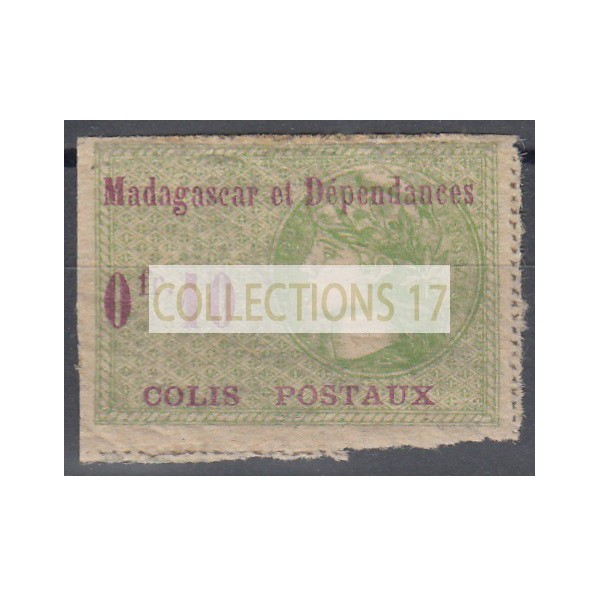 Madagascar - numéro CP-4 - Neuf avec charnière