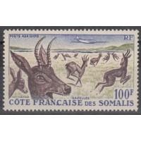 Cote des Somalis - numéro PA 26 - Neuf sans charnière
